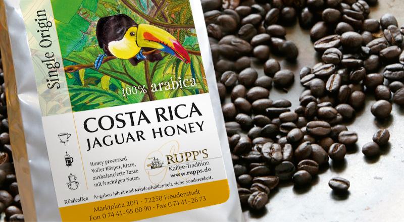 "Costa Rica ""Jaguar Honey"" 250 gr."