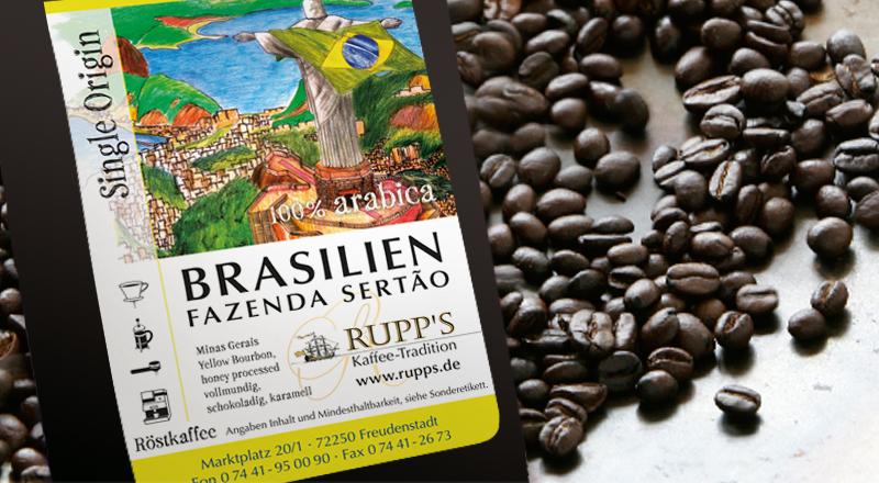 Brasil Fazenda Sertao Arabica