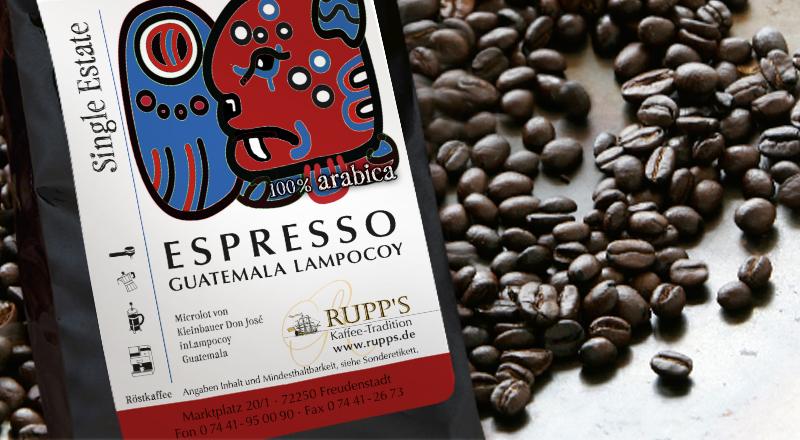 Espresso Lampocoy Arabica 250 gr.