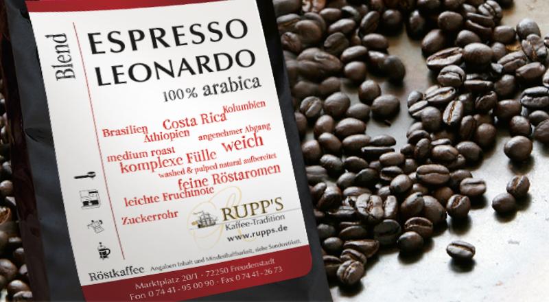 Espresso Leonardo 250gr.