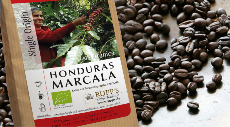 Honduras Marcala BIO 500 gr.