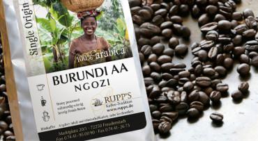 Burundi Ngozi Arabica 250 gr.