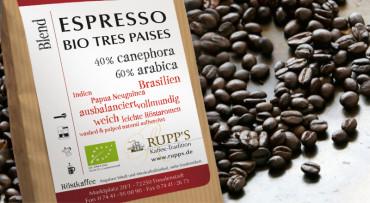 Espresso Tres Paises Bio 500gr.