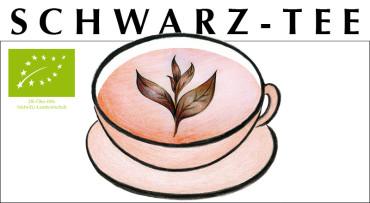 BIO Schwarztee Crema Catalana