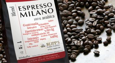Espresso Milano (100% Arabica) 1000gr.