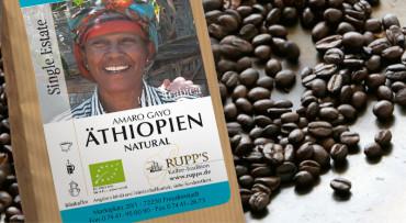 Äthiopien Amaro Gayo natural Bio momentan nicht lieferbar
