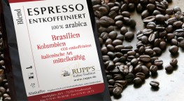 Espresso entcoffeeiniert