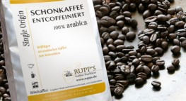 Schonkaffee entcoffeiniert